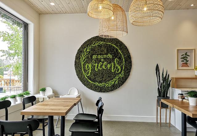 Yes! We're Eating Again!: Grounds and Greens Cafe - White Rock