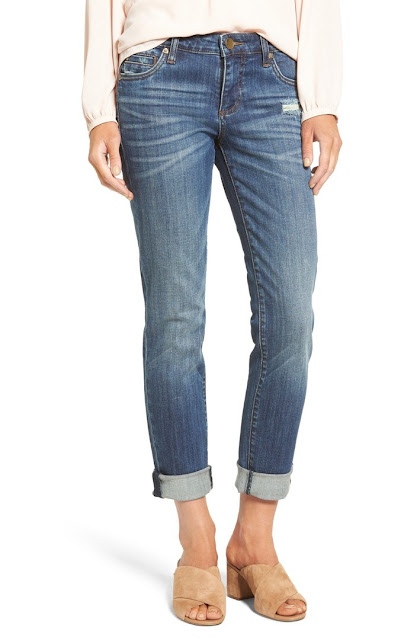 medium wash skinny jean