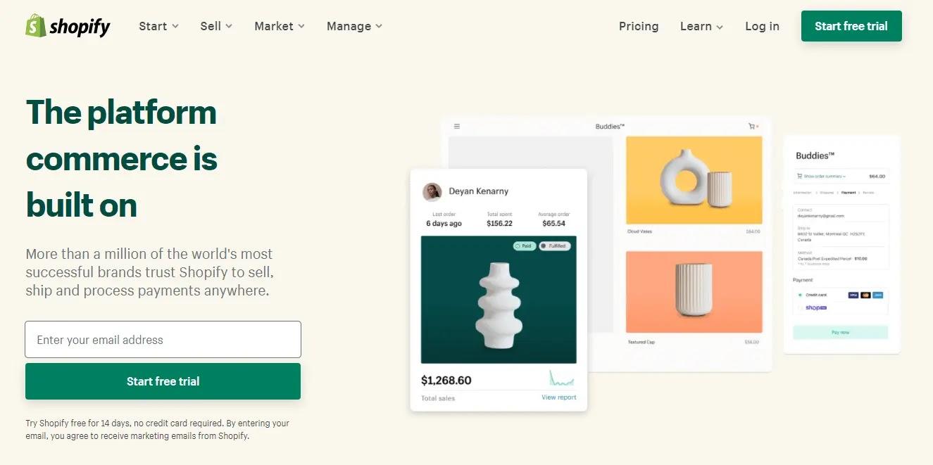 مراجعة Shopify : هل هي فعلاً أفضل منصة للتجارة الإلكترونية؟