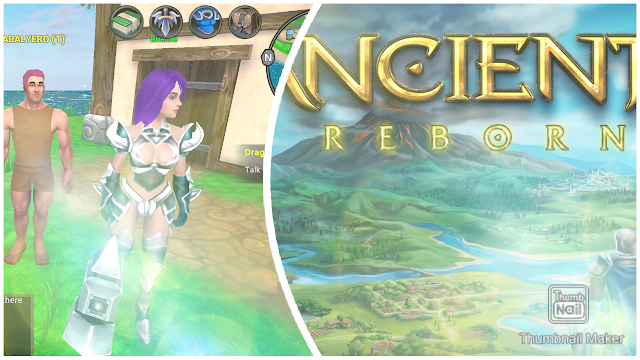 Character Creation | ANCIENT REBORN Mobile MMORPG Gameplay