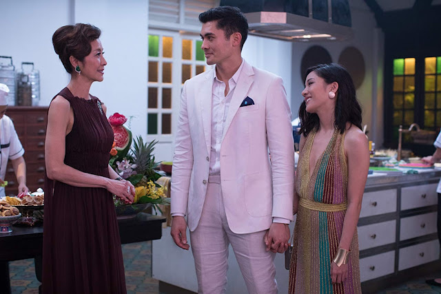 Scene on Crazy Rich Asians 2018 Movie