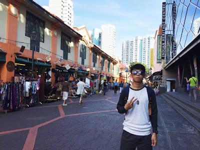 Lelah di Marina Bay Sands, Lemas di Merlion