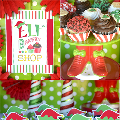 An Elf Cookie Decorating Holiday Kids Party
