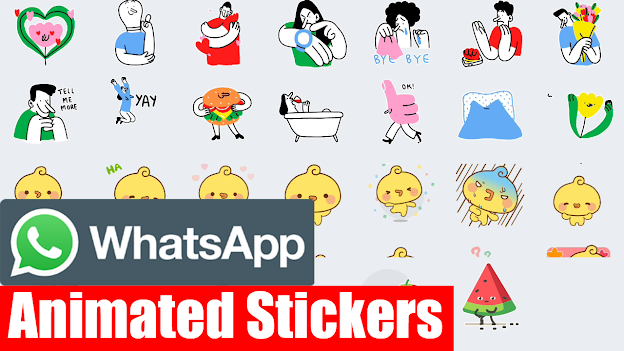 How to use animated stickers in WhatsApp?