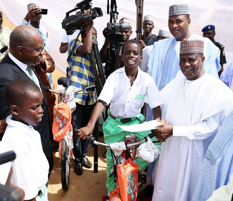 #GTBANKCARES: 120 Bicycles Distributed To Four Secondary Schools In Sokoto State