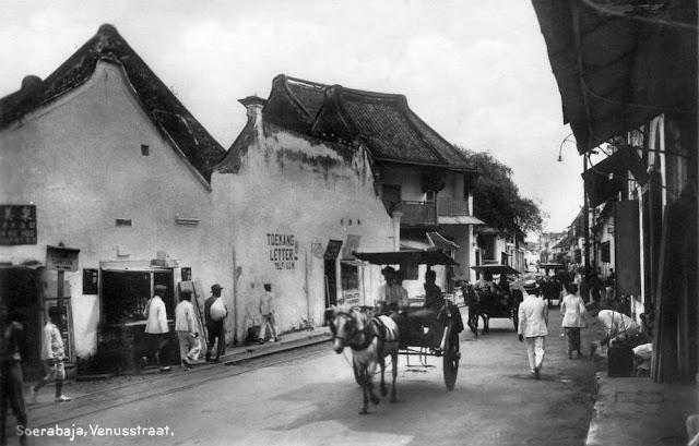 Street at Soerabaja, c1930