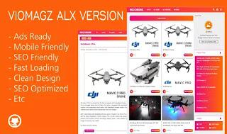 TemplateViomagz Alx Premium