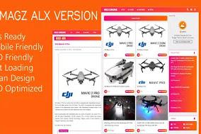 Template Blogger Viomagz Alx Premium