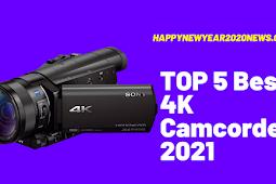 TOP 5 Best 4K Camcorder 2021 Buyer's Guide