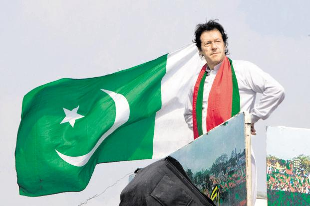 Image Attribute: Imran Khan during 2018 election campaigning / Source: AP