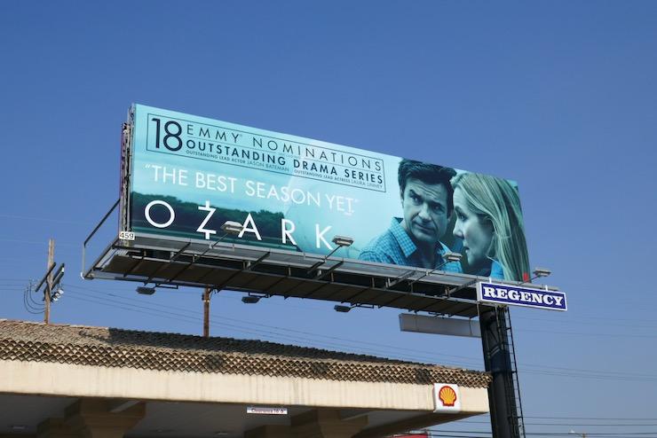 Ozark season 3 Emmy nominee billboard