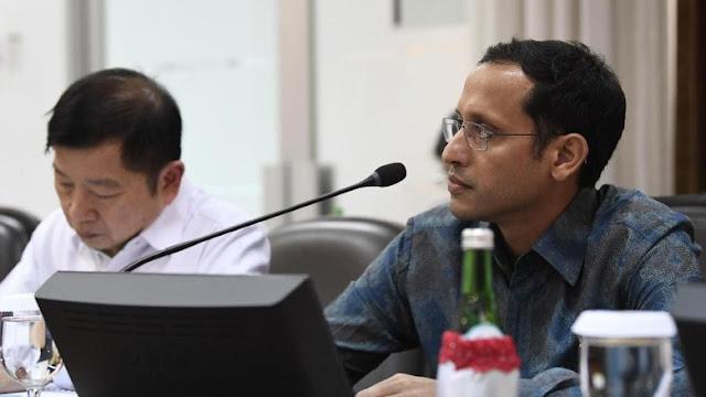 Jokowi ke Nadiem: Pak Mendikbud, Negara Kita Bukan Hanya Jakarta