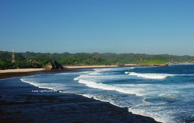 pantai Krakal, pantai yogyakarta, gunung kidul, pantai