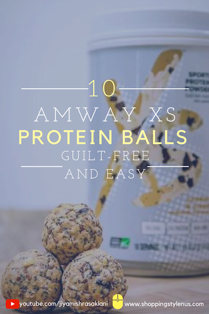 Shopping, Style and Us: India's Best Shopping and Self-Help Blog - Guilt-Free Laddoos/Balls Made with Amway XS Nutrition Cream and CookiesProtein Powder, Oats, Choco-Chips, Flax and Chia Seeds