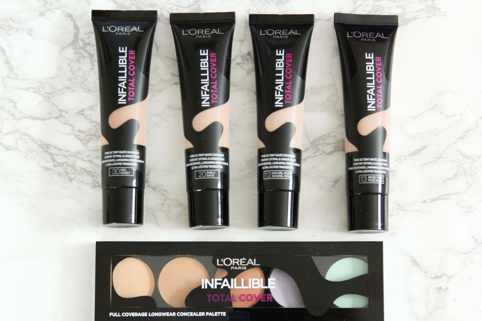 l'oreal Infaillible Total Cover Produkttest- Fashionstylebyjohanna- Beauty-Blogger-Infallible Matte Foundation von L´Oréal Paris