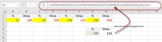 Buscar en Columnas Alternas en Excel