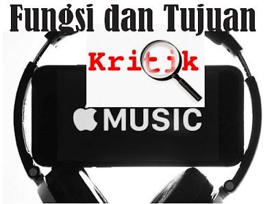 Fungsi dan Tujuan Kritik Musik