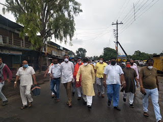 नियमों का उल्लंघन करने वाले सांसद और भाजपा नेताओं के खिलाफ प्रकरण दर्ज किया जाए - कांग्रेस