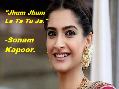 Review of the Bollywood Song -Jhum Jhum La Ta Tu Ja-The Story Line of the Song.