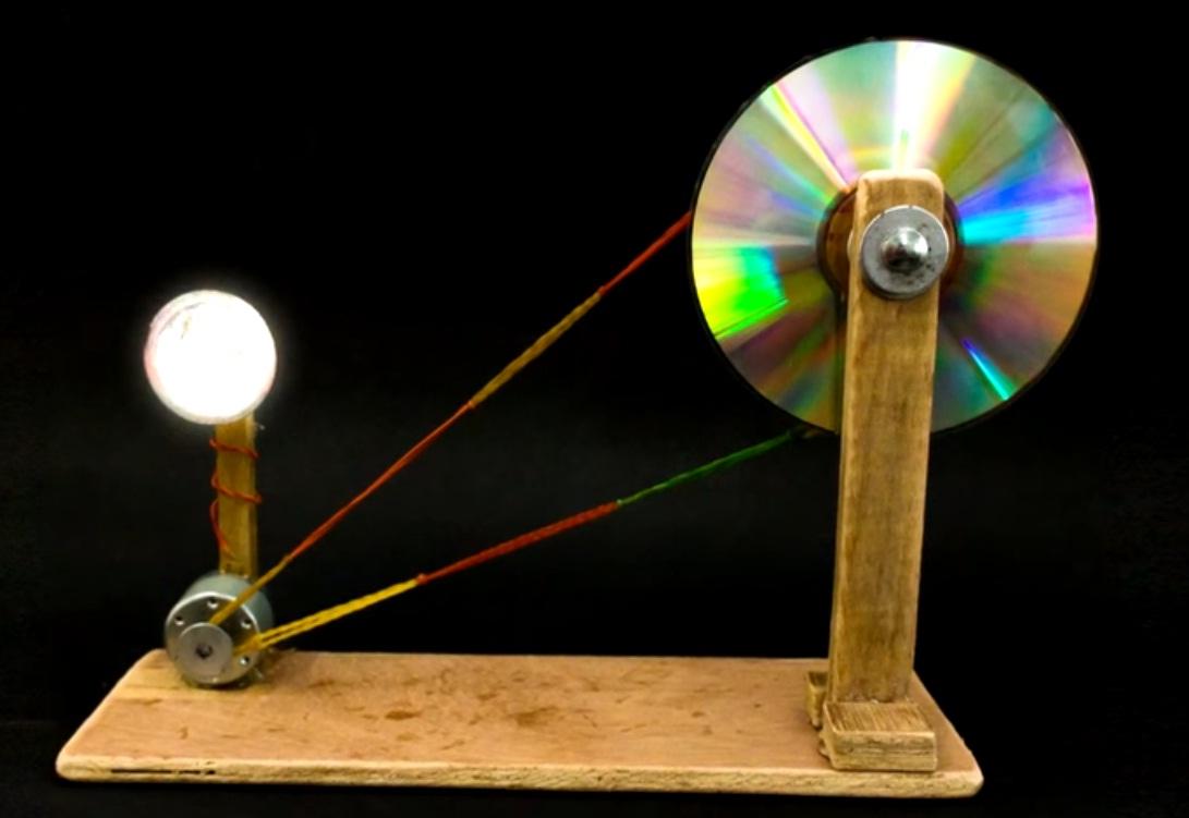 Nilanjana's Science Blog: School Project- Electric Generator