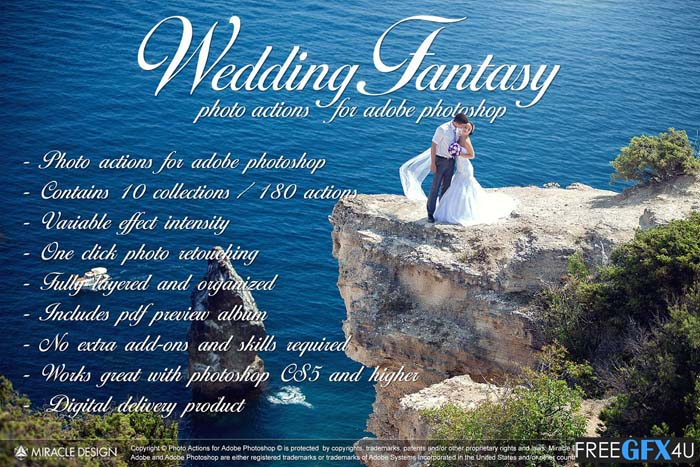 Wedding Actions For Photoshop