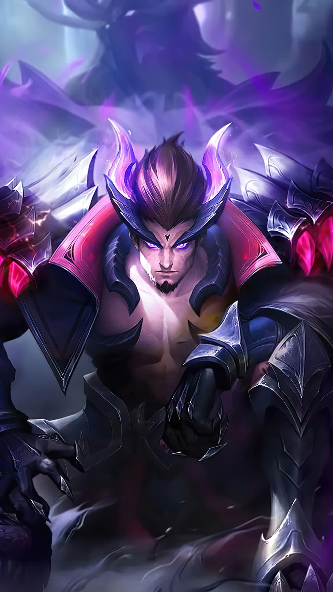wallpaper yu zhong mobile legends black fierce dragon for mobile hobigame