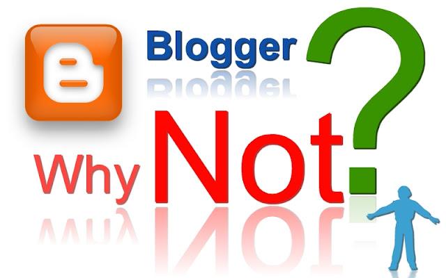 Untuk Membuat Sebuah Web Besar, Pantaskah Menggunakan Platform Blogger atau blogspot ?