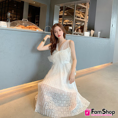 Shop váy maxi đi biển ở Hà Đông