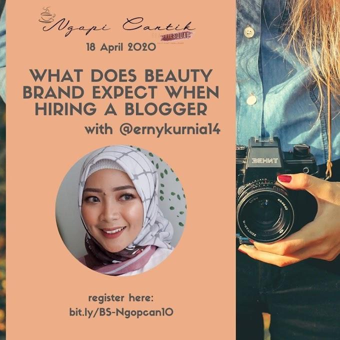Ingin Diajak Kerja Sama dengan Beauty Brand? Berikut Hal-hal yang Harus Diperhatikan Blogger