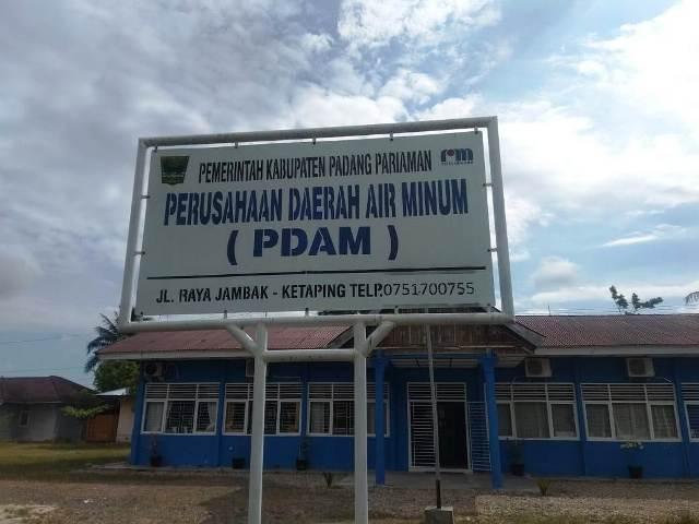 PDAM Padangpariaman Krisis Air Bersih Musim Kemarau Datang Debit Air Susut 30 Persen