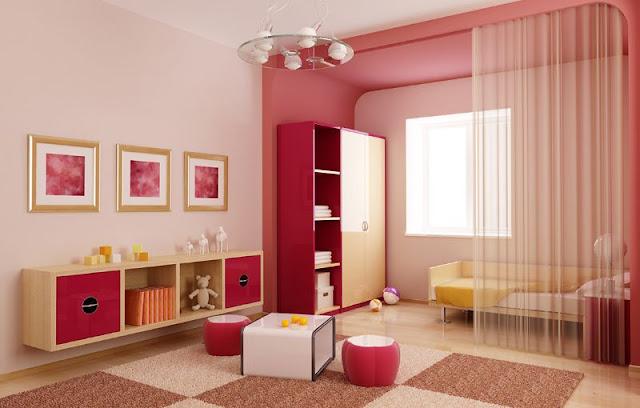 Warna Merah dan Pink