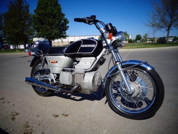 Hercules W-2000 Rotary Wankel 1977