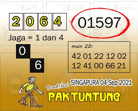 Syair SGP Sabtu 04 September 2021