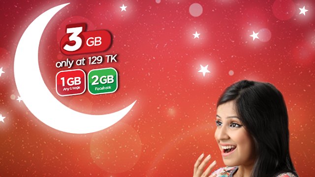 Robi+3GB+internet+129TK+Delight+Pack