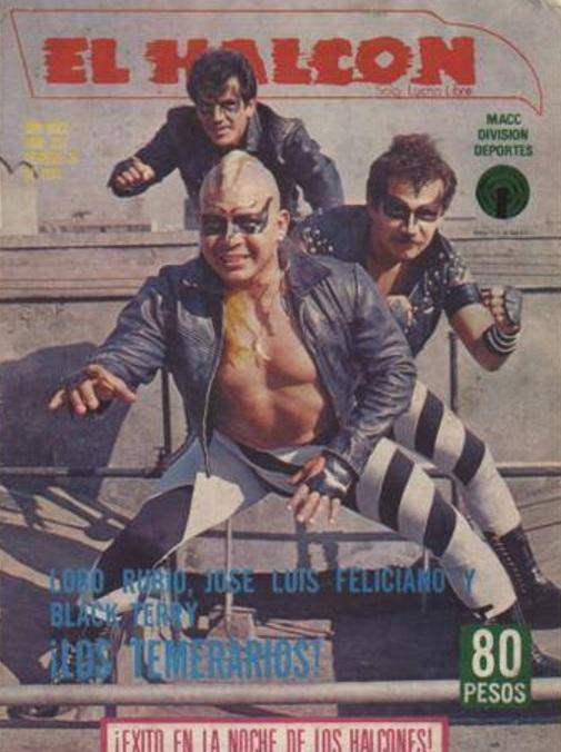 Resultado de imagen para Los temerarios lucha libre