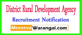 DRDA (District Rural Development Agency) Recruitment Notification 2017