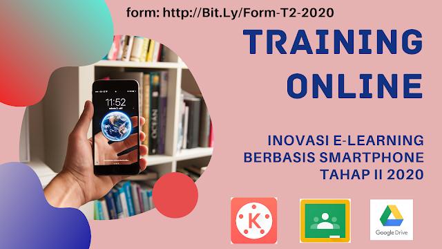 Daftar Peserta Tetap Training Online Inovasi E-learning Berbasis Smartphone Tahap II-2020
