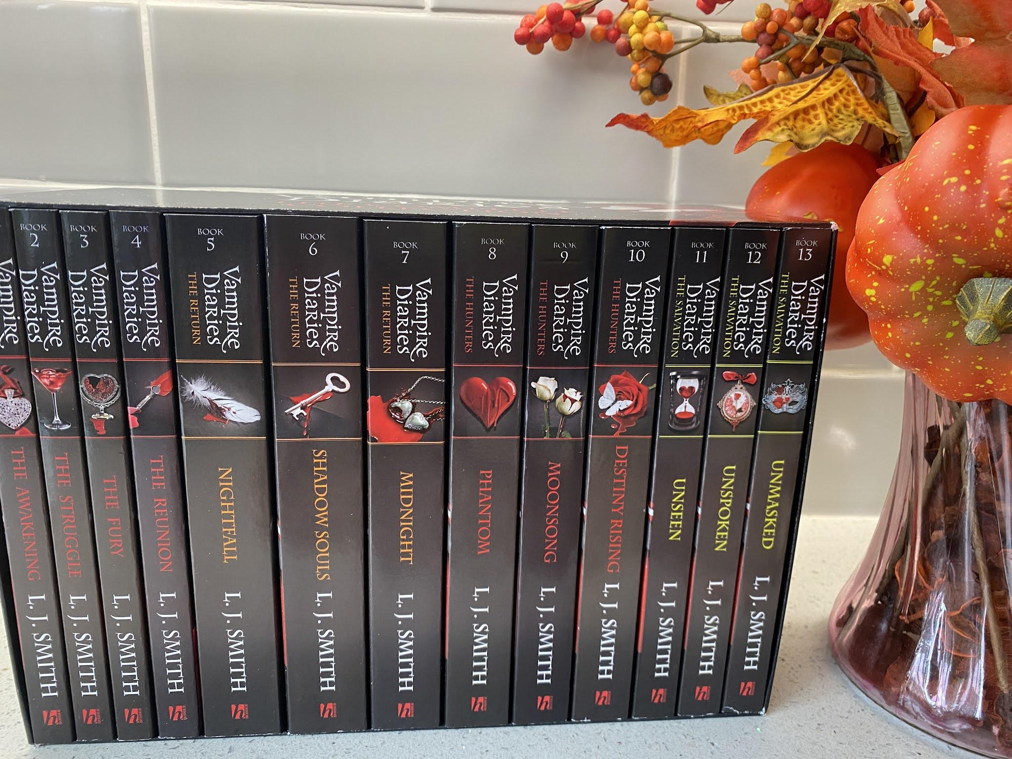 the vampire diaries 13 book boxset