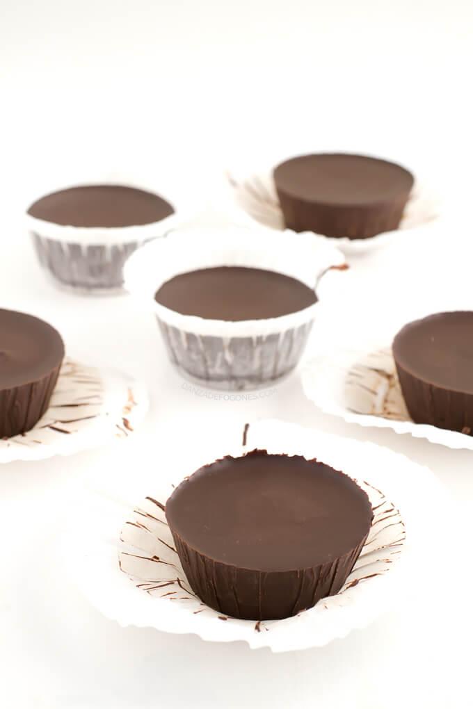 Chocolate cups - danceofstoves.com
