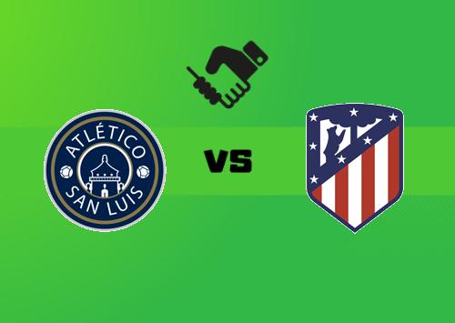 Atlético San Luis vs Atlético Madrid  Resumen y Partido Completo