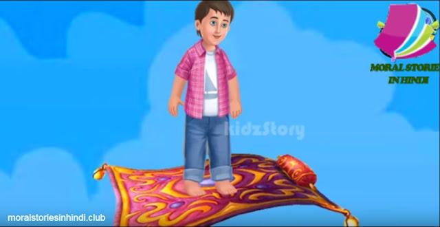 Jadui Nariyal Ki Kahani - जादुई नारियल पेड़ - Kids Story in Hindi
