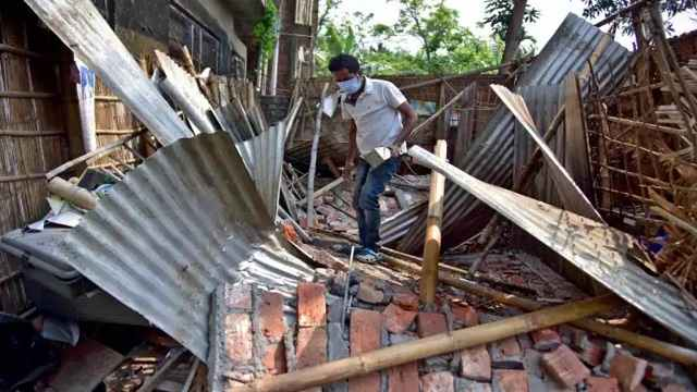 Bodopress News Said that 16 Time Tremors earthquake were felt in Assam