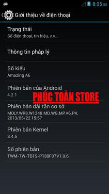 Rom Taiwan mobile A6 alt