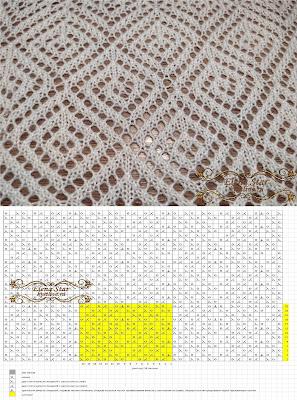 Схема для спиц и ручной деккеровки