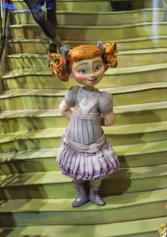 The Boxtrolls stop-motion Winnie figure