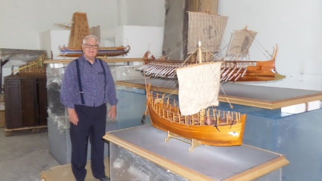 200 ομοιώματα πλοίων αποτυπώνουν τη ναυπηγική ιστορία της Ελλάδας