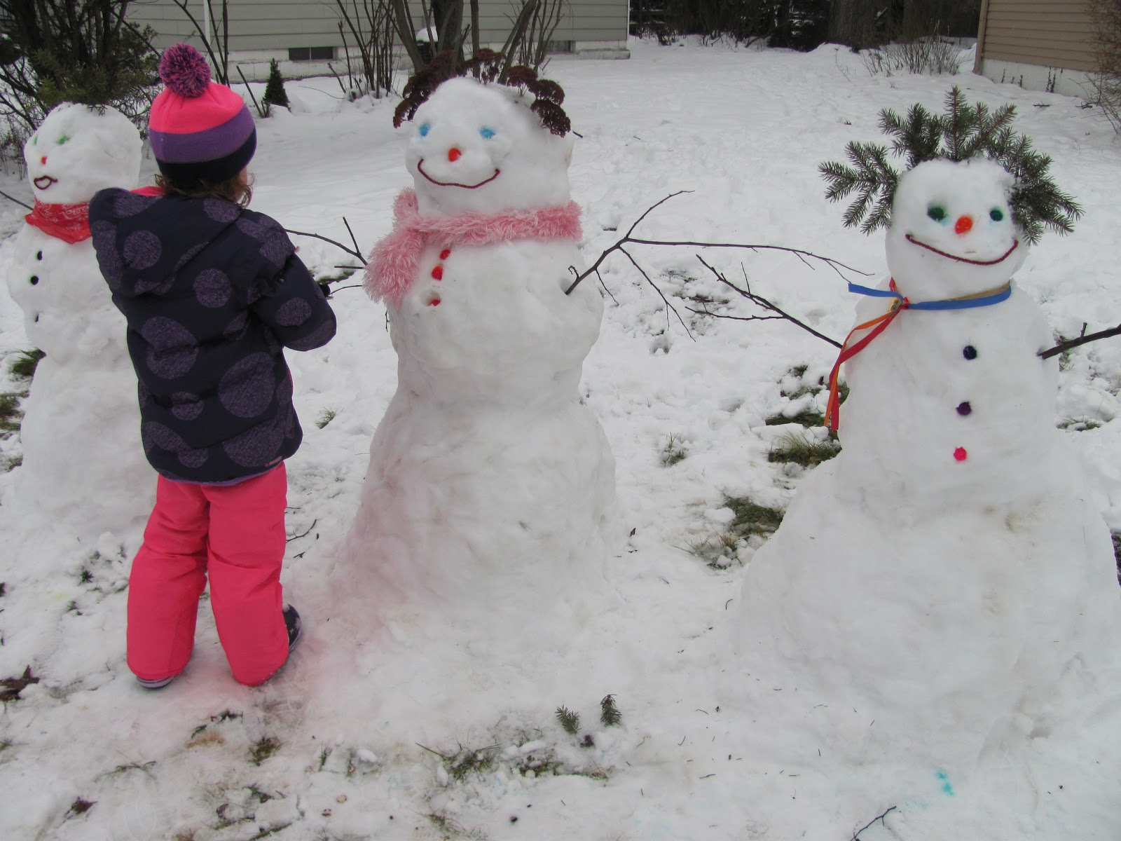 The Chocolate Muffin Tree The Value Of Creating Snowmen
