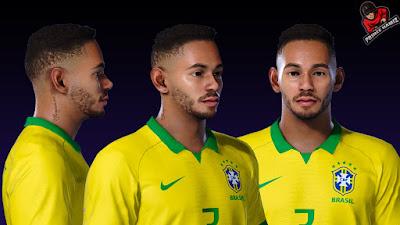 PES 2021 Faces Matheus Cunha by Prince Hamiz
