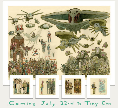 San Diego Comic-Con 2020 Exclusive The Great Showdowns Timed Edition Prints by Scott C.