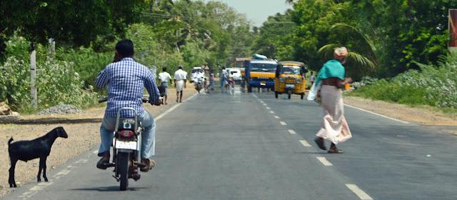 Coche con conductor India